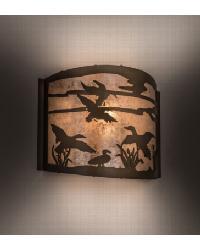 Ducks in Flight Wall Sconce 68612 by
