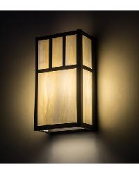 Hyde Park Double Bar Mission Wall Sconce by