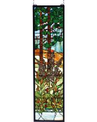 Tiffany Foxgloves Stained Glass Window 74037 by