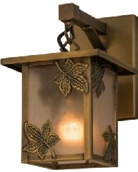 Hyde Park Maple Leaf Hanging Wall Sconce 88377 by