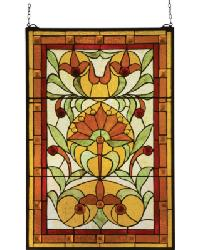 Picadilly Stained Glass Window by