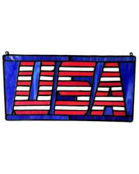 USA101 US Flag Suncatcher by