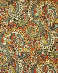 Red Color Theory Sunset Fabric Maxwell Fabrics Boho 335 Ming Red