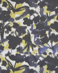Black Color Theory True Blue Fabric Maxwell Fabrics Floral Frenzy 114 Ink