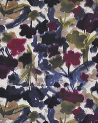 Purple Color Theory Full Bloom Fabric Maxwell Fabrics Floral Frenzy 329 Violet