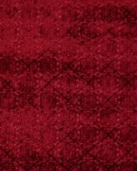 Red Floral Diamond Fabric  Prism 630 Cardinal