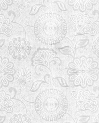 Jacobean Floral Fabric  Twiggy S02