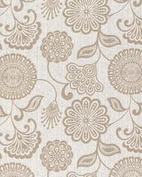Jacobean Floral Fabric  Twiggy Flint