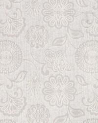 Jacobean Floral Fabric  Twiggy Whisper