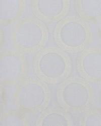 Beige Circles and Swirls Fabric  Full Circle Ivory