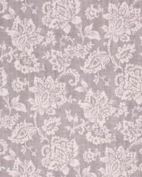 Grey Jacobean Floral Fabric  Giovanni Stone