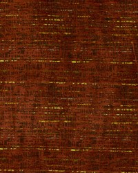 Orange Abstract Fabric  Flashdance Rust