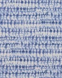 Blue Abstract Fabric  Tie Die Wedgewood