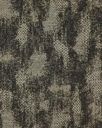 Black Abstract Fabric  Sonora Granite