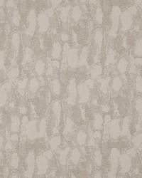 Grey Abstract Fabric  Samarkand Ikat Chalk