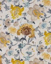Brushstroke Floral Gold Rush by