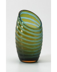 Sm Angle Cut Etched Vase 00105 by
