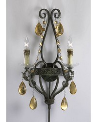 Dorato 2lt Wall Sconce 01022 by