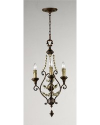 Meriel 3lt Chandelier by