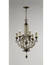 Meriel 6lt Chandelier by