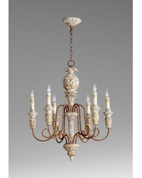 Bateau Six Lt. Chandelier by