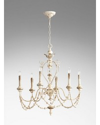 Florine 6lt. Chandelier by