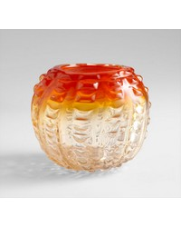Small Fire Pod Vase 05849 by