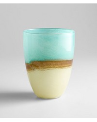 Md Turquoise Earth Vase 05873 by