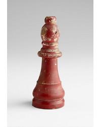 Crimson Bishop Sculpture 06177 by