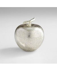 Silver Apple Sculpture 06447 by