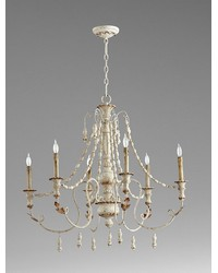 Lyon Six Light Chandelier by