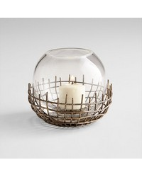 Small Silk Candleholder 06670 by