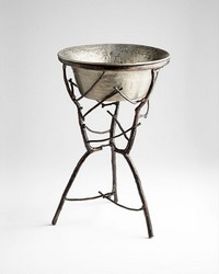 Silver Sprig Planter 06954 by