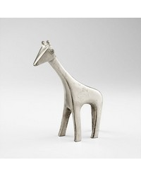 Sm Nickel Neck Sculpture 08094 by