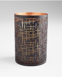 Large Weave Candleholder 08112 by