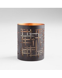 Small Weave Candleholder 08113 by