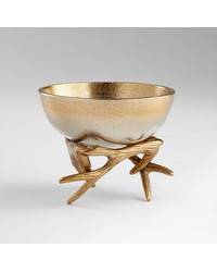 Sm Antler Anchored Bowl 08131 by