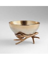 Med Antler Anchored Bowl by