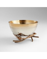 Lg Antler Anchored Bowl by