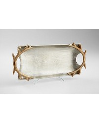 Large Horn Handle Tray 08172 by