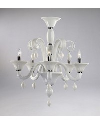 Treviso 5lt Wh Chandelier 6496-5-14 by