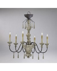 Provence 6lt Chandeliers by