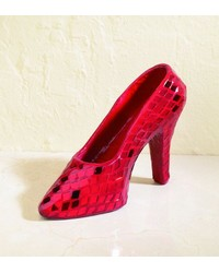 SmallRed Mirror Mosaic Shoe by