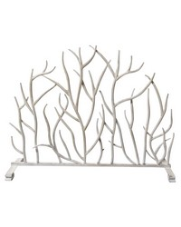 Ant White Twig Panel Firescreen by