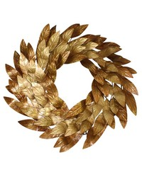 Copper Italian Gold Iron Wreath by