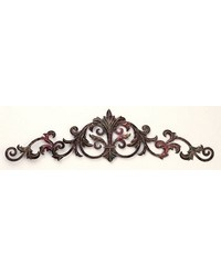 Rgg Horizontal Scroll Leaf Wall Grille by