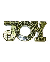 Mirror Mosaic Joy With Gold Grout by