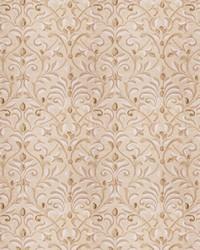Beige Silk Nuances Fall 2015 Fabric  Basinger Leaves Natural Gold