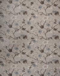 Blue Botanical Studio Fabric Fabricut Fabrics Castellina Waterfall