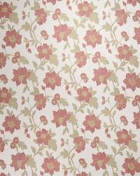 Red Botanical Studio Fabric Fabricut Fabrics Barzago Scarlet
